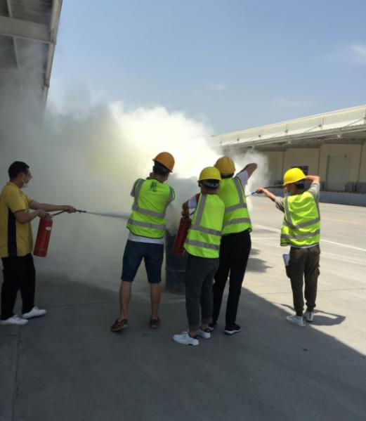 泰顺和商业:展开消防演练 筑牢安全防线——泰顺和物流园开展消防演习活动